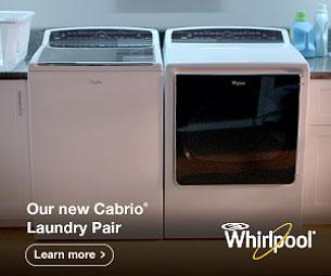 Whirlpool Cabrio Laundry Pair