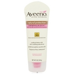 Aveeno Active Naturals Natural Protection MineralBlock Sunscreen SPF 30