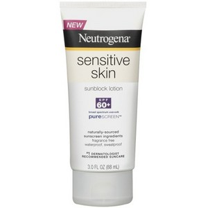 Neutrogena Sensitive Skin SPF 60+ Sunscreen