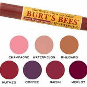Burt's Bees Lip Shimmer - All Shades