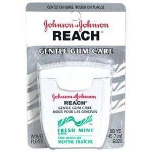 Johnson & Johnson Reach Gentle Gum Care with Fluoride Floss