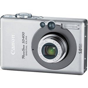 Canon - PowerShot SD400 Digital Camera