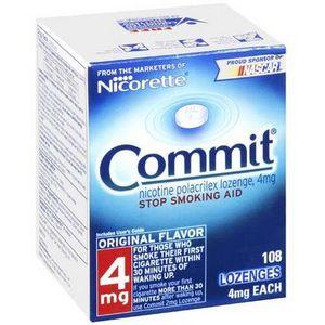 Commit Lozenges by Nicorette