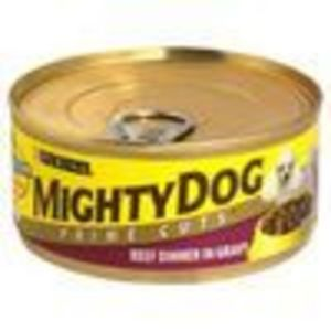 Mighty Dog Prime Cuts Beef In Gravy