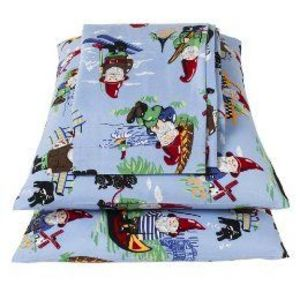 Nick Nora Gnome Flannel Sheet Sets