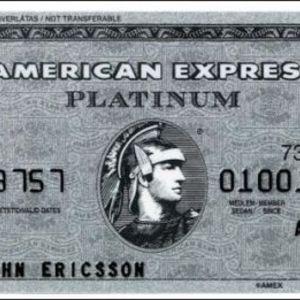 American Express - Platinum Credit Card