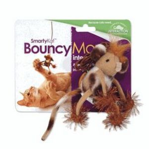 SmartyKat BouncyMouse interactive cat toy