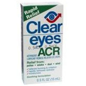 Clear Eyes Acr Allergy Relief Eye Drops 0.5 fl oz /15 ml