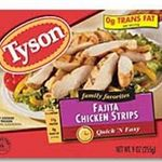 Tyson Chicken Fajita Strips