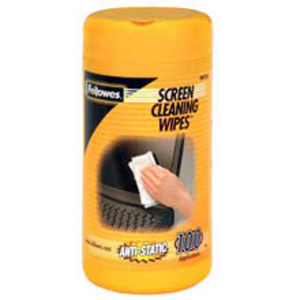 Fellowes Screen Cleaning Wipes