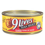 9 Lives Tuna Select Canned Cat Food