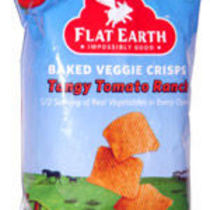 Flat Earth - Baked Veggie Crisps