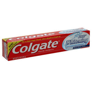 Colgate Baking Soda & Peroxide Whitening Brisk Mint Toothpaste