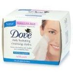 Dove Daily Hydrating Facial Cleansing Cloths