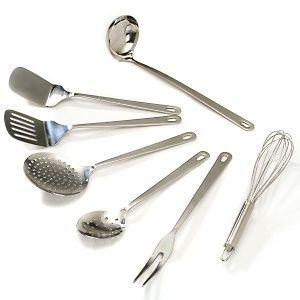 Wolfgang Puck Bistro 7-piece Stainless Utensil Set 754-514