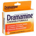 Dramamine Chewable Tablets - Orange