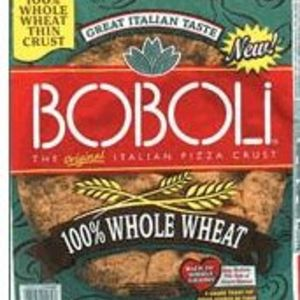 Boboli Whole Wheat Pizza Crust