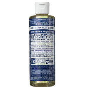 Dr. Bronner's Pure Castile Liquid Soap - Peppermint