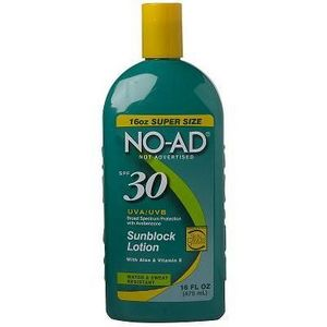NO-AD Ultra Sun Block Lotion SPF 30