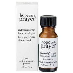 Philosophy Hope and a Prayer Topical Vitamin C Powder