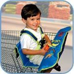 SafeFit Safe 'N Secure Shopping Cart Safety Seat