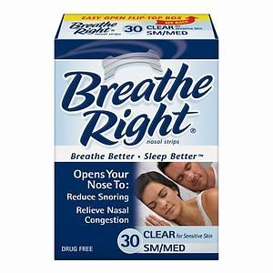 Breathe Right Nasal Strips