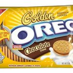 Nabisco Oreo Golden Chocolate Creme Cookies