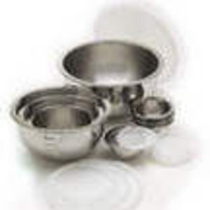 Wolfgang Puck 16 piece Stainless Steel Mixing Bowls with Lids