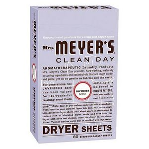 Mrs. Meyer's Clean Day Dryer Sheets - All Scents