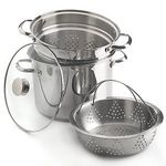 Wolfgang Puck Bistro 4-Piece 8-Qt. Pasta Cooker