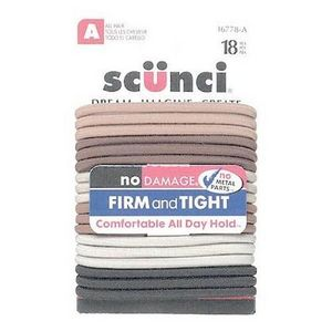 Scunci Elastic Natural 18ct