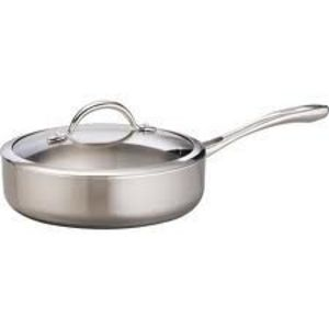 Tramontina Tri-Ply Clad 5-Quart Covered Skillet