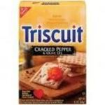 Nabisco - Triscuits Cracked Pepper & Olive Oil