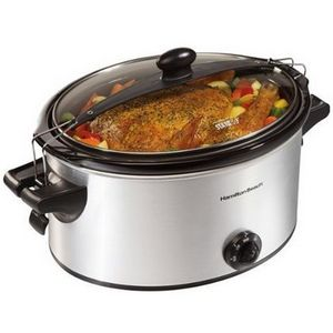Hamilton Beach Stay-or-Go 6-Quart Slow Cooker