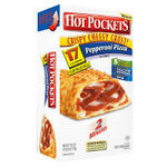 Hot Pockets Pepperoni PIzza - Crispy Cheesy Crust