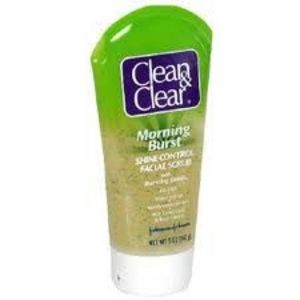 Clean & Clear Morning Burst Shine Control Scrub