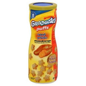 Gerber Graduates Sweet Potato Puffs