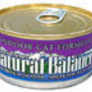 Natural Balance Indoor Cat Formula Canned Food