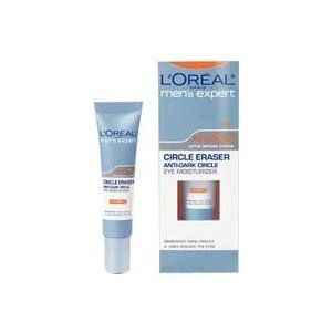 L'Oreal Men's Expert Circle Eraser, Anti-Dark Circle Eye Moisturizer