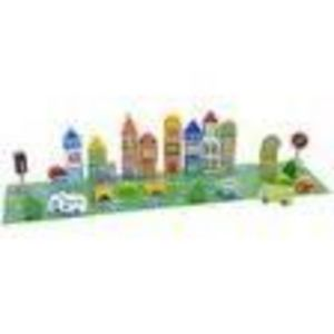 Imaginarium 50-Piece Wooden City Block Set