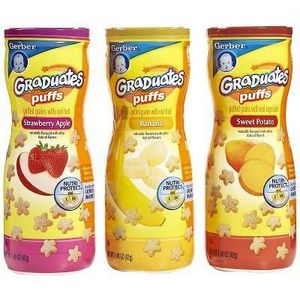 Gerber Graduates Fruit & Veggies Puffs