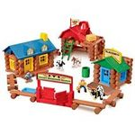 Lincoln Logs Rocky Mountain Ranch Play Set