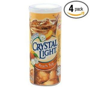 Crystal Light Peach Tea