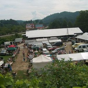 Tuesday Flea Market in Murphy, NC