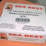 Sea Best Frozen Frog Legs