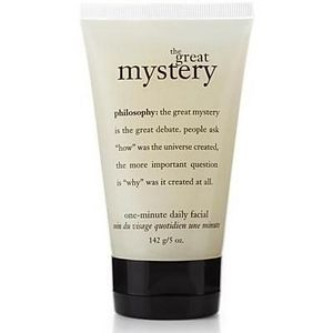 Philosophy The Great Mystery One-Minute Daily Facial
