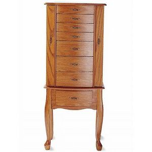 Worthington Oak Jewelry Armoire from JCPenney Reviews Viewpointscom