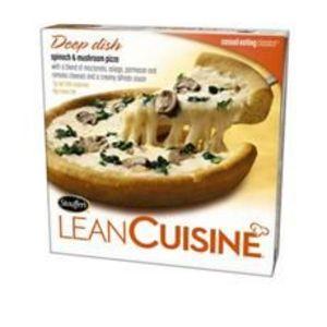 Lean Cuisine Spinach & Mushroom Pizza