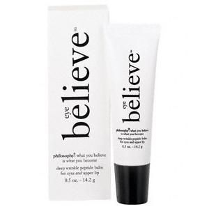 Philosophy Eye Believe Deep Wrinkle Peptide Gel