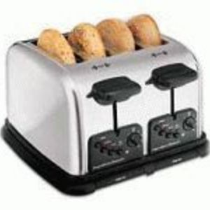 Hamilton Beach Classic Chrome Extra-Wide Slot 4-Slice Toaster